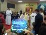 Batismo com imersão na água 15/04/2017